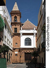 Iglesia de Nuestra Senora Cadiz - the church, Iglesia de...