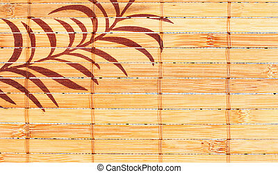 bamboo background - abstract bamboo background with...