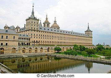 El Escorial monastery, Spain - El Escorial monastery with...