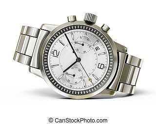 watch  - luxury watch isolated on a white background
