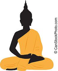 Thai Buddha - Thai sitting Buddha