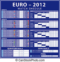 Euro 2012 matches - Euro 2012 shedule matches. Time...