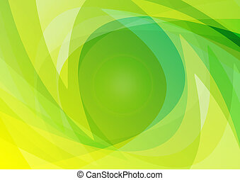 Abstract Green Background Wallpaper