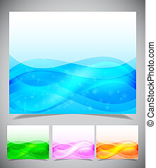 Abstract light blue background, Vector illustration eps10