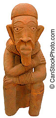Escultura,  original, africano