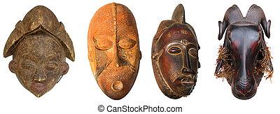 Esculturas, africano