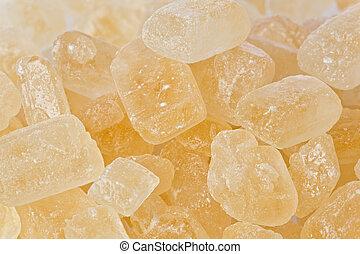 岩石, 糖果