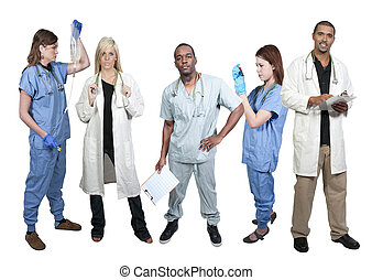 Doctors - Group of medical doctors with various specialties
