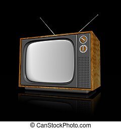 television - 3d illustration of television