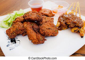 fried thai food