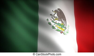 Flag of Mexico (seamless)