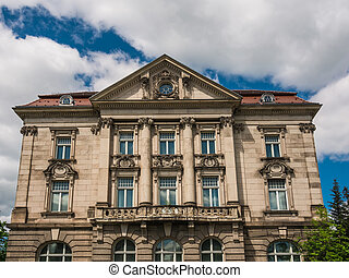 Historical building - A historical building in Meiningen...