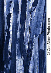 Oil Painting Texture - Detailed close up texture of oil...
