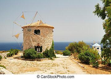 Greek Windmills