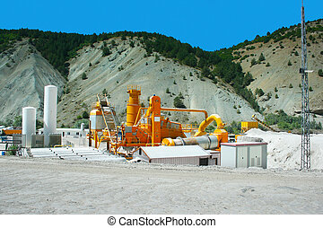 Asphalt mixer plants - Movable asphalt mixer plants in...