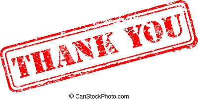 Thank you rubber stamp vector illustration. Contains...