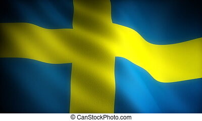 Flag of Sweden seamless