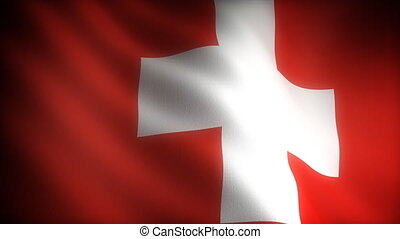 Flag of Switzerland seamless