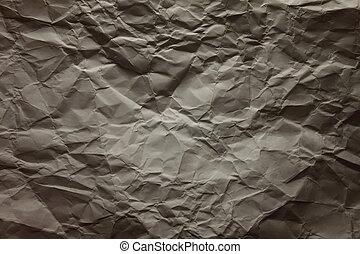 %u0421rumpled paper - %u0421rumpled white paper