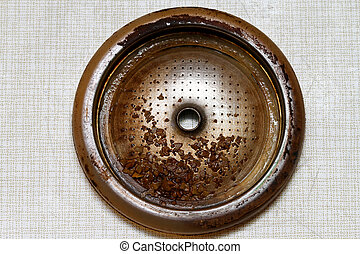 Clogged coffee filter