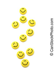 Dollar sign made of yellow smileys - Image of dollar sign...