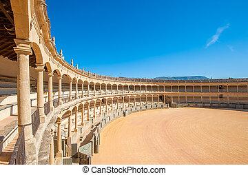 Bullring in Ronda, Spain
