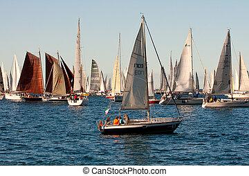 Trieste, Barcolana 2009 - The Trieste regatta - Trieste...