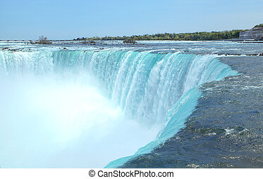 Niagara waterfall - beautiful Niagara waterfall
