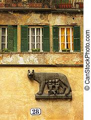 Italian wall