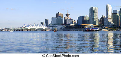 Canada Place and downtown Vancouver BC. - Canada Place and...
