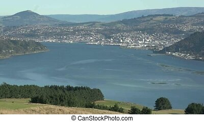 Dunedin Harbour - Dunedin, New Zealand, May 2012 View from...