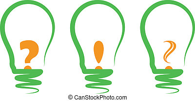 concept, symbolizing the light bulb