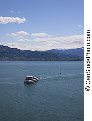 ferry on the bodensee