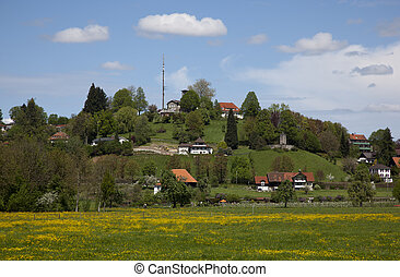 houses nearby the bodensee germany