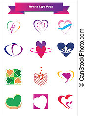 Hearts Logo Pack
