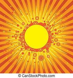 Yellow Sun Cover