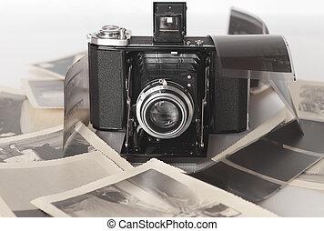 A vintage folding camera - It is a vintage folding camera...