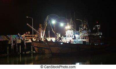 pier, timelapse