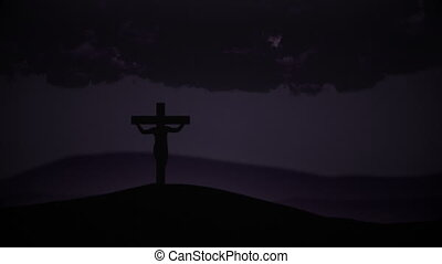 Crossed Jesus Christ - Easter - Crucifixion