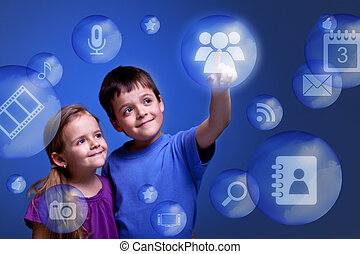 Kids accessing cloud applications - Kids accessing cloud...