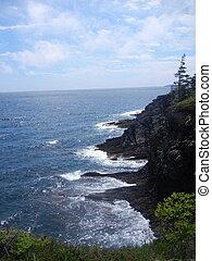 Cliffs over Atlantic - Steep cliffs over Atlantic ocean