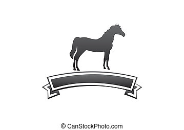 Horse care - Simple and clean logo design