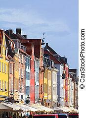 Denmark - Copenhagen - Copenhagen, Denmark - colorful...