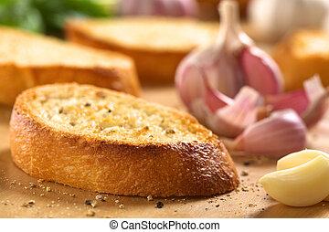 Garlic Bruschetta - Fresh homemade crispy Italian antipasto...