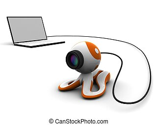 laptop - 3d webcam and laptop