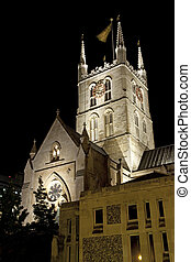 Southwark Cathedral at Night - Southwark Cathedral at night....