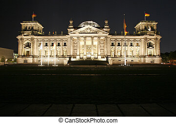 The Reichstag - Berlin, Germany.