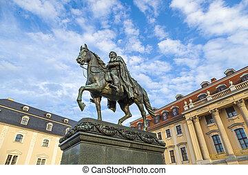 Carl-August, monumento, (Weimar)