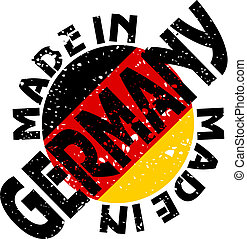 Made in Germany - vector label Made in Germany