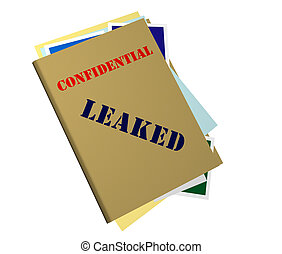 Leaked File - Confidential Folder Stamped Leaked
